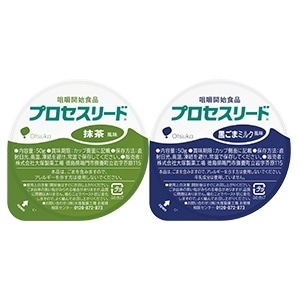 プロセスリード 抹茶風味と黒ごまミルク風味のセット